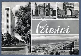 °°° Cartolina - Rimini Vedute Viaggiata °°° - Rimini