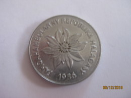 Madagascar: 5 Francs 1986 - Madagascar
