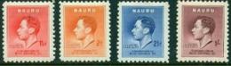 """-Nauru-1937-""""Coronation Set""""  MNH (**) - Nauru"""