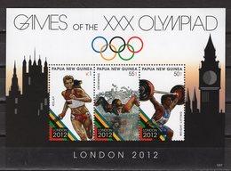 PAPUA NEW GUINEA - 2012 LONDON SUMMER OLYMPIC GAMES  M1687 - Estate 2012: London