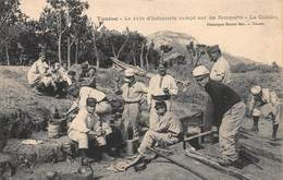 CPA TOULON - Le 111e D' Infanterie Campé Sur Les Remparts - La Cuisine - Toulon