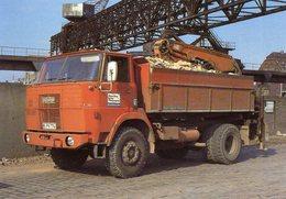Henschel F161AK  (1971) In  Berlin  In  1978  -  CPM - Camions & Poids Lourds