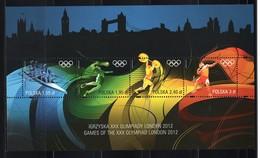 POLAND - 2012 LONDON SUMMER OLYMPIC GAMES  M1693 - Estate 2012: London
