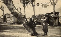 CORSE -- BERGER ET BERGERE Des Environs D'AJACCIO - Ajaccio