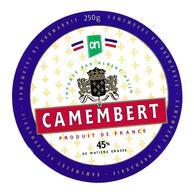 ETIQUETTE De FROMAGE..CAMEMBERT De NORMANDIE..importé Par Albert Heijn - Cheese
