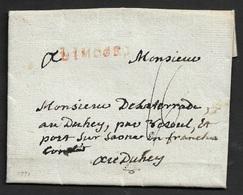 1791 LAC - LIMOGES  - Contenu Intéressant - Postmark Collection (Covers)