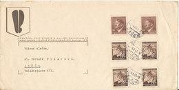 Bohemia & Moravia Böhmen & Mähren Cover Sent To Czechoslovakia Brno 6-11-1943 - Bohemia & Moravia
