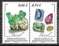 TAAF 2015 N°726/727 Neufs Minéraux - Neufs