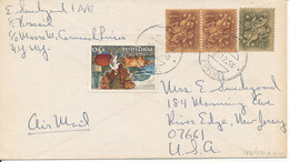 Portugal Cover Sent To USA 1968 - 1910-... República
