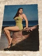 Ragazza In Costume Da Bagno, No Circolata Del 1950, 60 - Salute