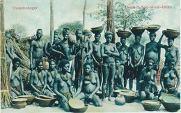 Ovamboneger, Deutsch-Süd-West-Afrika, Photo, No Postcard, 2 Scans - Namibia