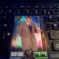 W RAW CHAMPION TOPPS SLAM ATTAX TRADING CARD GAME WILLIAM REGAL - Trading Cards