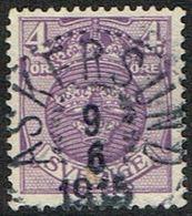 1911.4 ÖRE. ASKERSUND 9 6 1915. (MICHEL 67) - JF164379 - Oblitérés