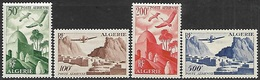Algeria 1949-53   Sc#C8-11  Airmail Set MLH  2016 Scott Value $51 - Algeria (1924-1962)