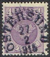 1911.4 ÖRE. ÖSTERSUND 27 2 1915. (MICHEL 67) - JF164427 - Oblitérés