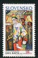 SLOVAKIA 2002 Europa: Circus  MNH / **.  Michel 424 - Nuevos