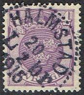 1911.4 ÖRE. HALMSTAD L Br 20 2 1916. (MICHEL 67) - JF164428 - Oblitérés