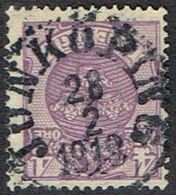 1911.4 ÖRE. JÖNKÖPING 28 2 1918. (MICHEL 67) - JF164429 - Oblitérés