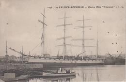 """CPA La Pallice - (La)Rochelle - Quatre Mâts """"Charanal"""" - Francia"""