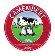 ETIQUETTE De FROMAGE..CAMEMBERT Fabriqué En NORMANDIE..VACHE - Cheese