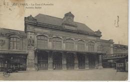 75 ( Paris ) - PARIS - La Gare D'Austerlitz - Austerlitz Station - Métro Parisien, Gares