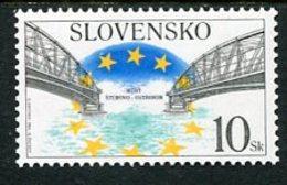 SLOVAKIA 2002 Reconstruction Of Danube Bridge  MNH / **.  Michel 409 - Nuevos