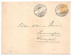 Brief Ohne Inhalt Kuopio 1894 Nach Tammerfors ( Tampere ) - Briefe U. Dokumente