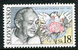 SLOVAKIA 2001 Alexander Dubcek Single Ex Block  MNH / **.  Michel 406 - Nuevos