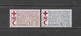 1966 - N. 445/46* - N. 447* - N. 448* - N. 449* - N. 450* - N. 451* - N. 452/54** - N. 455*  (CATALOGO UNIFICATO) - Danimarca
