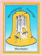 Sticker - Wandelgroep Flamingo - Mechelen - Autocollants