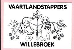Sticker - Vaartlandstappers - Willebroek - Autocollants