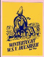 Sticker - Wintertocht W.S.V. HOLSBEEK - Bob Torfs - Autocollants