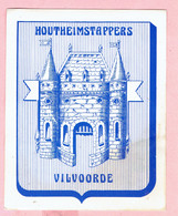 Sticker - Houtheimstappers - Vilvoorde - Autocollants
