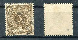 Deutsches Reich Michel-Nr. 45e Vollstempel - Geprüft - Oblitérés