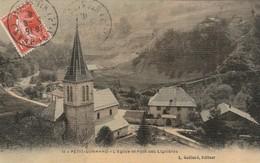 PETIT BORNAND ,( Bonneville ), L'église Et Le Pont Des Lignières ;  ( L. Gaillard ,n° 1 , Couleur ) - Bonneville