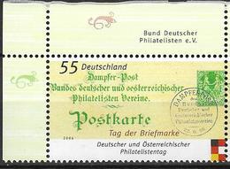 2006 Allem. Fed.  Deutschland Mi. 2565 **MNH EOL Tag Der Briefmarke: Deutscher Und Österreichischer Philatelistentag, - [7] République Fédérale