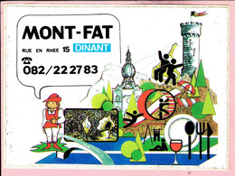 Sticker - MONT FAT Rue Zn Rhee 15 Dinant - Autocollants
