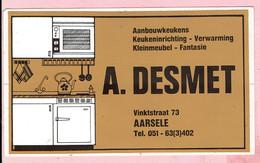 Sticker - A. DESMET - VINKTSTRAAT AARSELE - Keukens Verwarming - Autocollants