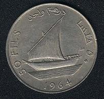 Südarabien, 50 Fils 1964, Dhau - Yemen