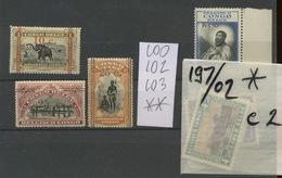 Congo Belge 100 102 103 **. Cote 10,50 E. Avec Une Prime En Bonus - Belgian Congo