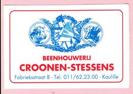 Sticker - Beenhouwerij CROONEN-STESSENS Fabrieksstraat Kaulille - Autocollants