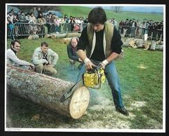1983  --  CENSEAU  JURA CONCOURS DE TRONCONNAGE  3R920 - Sin Clasificación
