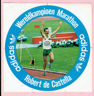 Sticker - Wereldkampioen Marathon Robert De Castella - Adidas - Autocollants