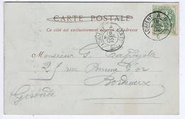 Cachet Ambulant LORIENT A PARIS Du 18 AVRIL  02 - Marcophilie (Lettres)