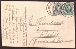 Belgique  1922-27  - MOUSCRON -  # 09-10-1925 - 1921-1925 Petit Montenez
