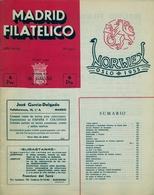 1954 . MADRID FILATÉLICO , AÑO XLVIII , Nº 551 / 6 , EDITADA POR M. GALVEZ - Espagnol (desde 1941)
