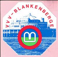 Sticker - V V V - Blankenberge - Autocollants
