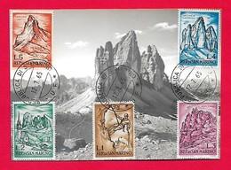 San Marino 12-7-1965 Maximum Tre Cime Di Lavaredo - Arrampicata