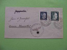 DNEPROPETROVSK 1943 Occupation, Envelope Deutsche Dienstpost Ukraine - 1923-1991 USSR