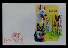 "White Germany Shepherd"" Dogs Faune Animals Chiens SOMALI REP. Gc4513 - Chiens"